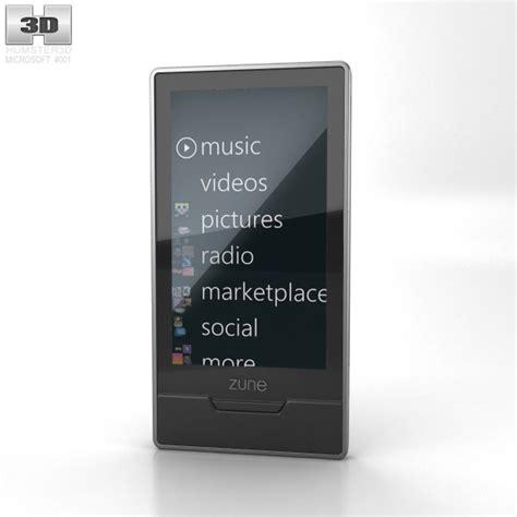 Microsoft Zune Hd microsoft zune hd 16 gb 3d model humster3d