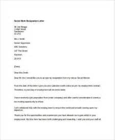 Resignation Letter Work 10 Work Resignation Letter Free Word Pdf Documents Free Premium Templates
