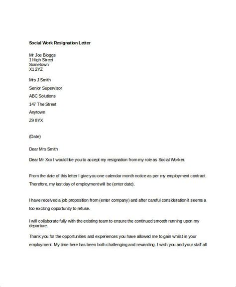 work resignation letter 10 work resignation letter free word pdf documents
