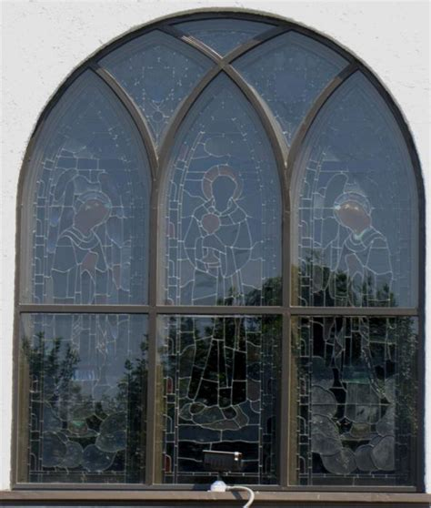 church stained glass window frame repair