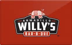 Boston Market Gift Card Balance - armadillo willy s bbq gift card check your balance online raise com