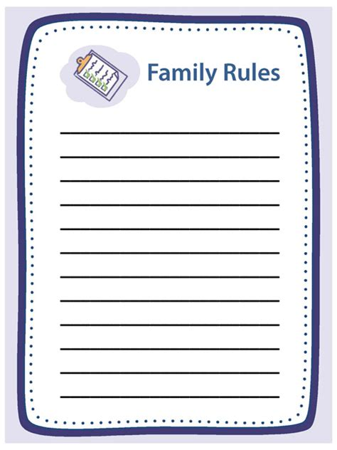 sle chart templates 187 house rules chart template free