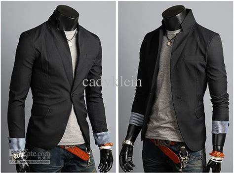 Toko Fashion Korean Style Black Blazer 65 2018 2012 mens casual suits stylish korean style suits for black jackets coats size m l xl