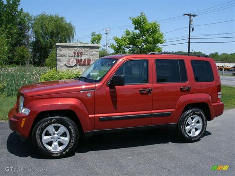 orange jeep 2010 sunburst orange pearl jeep liberty sport 4x4