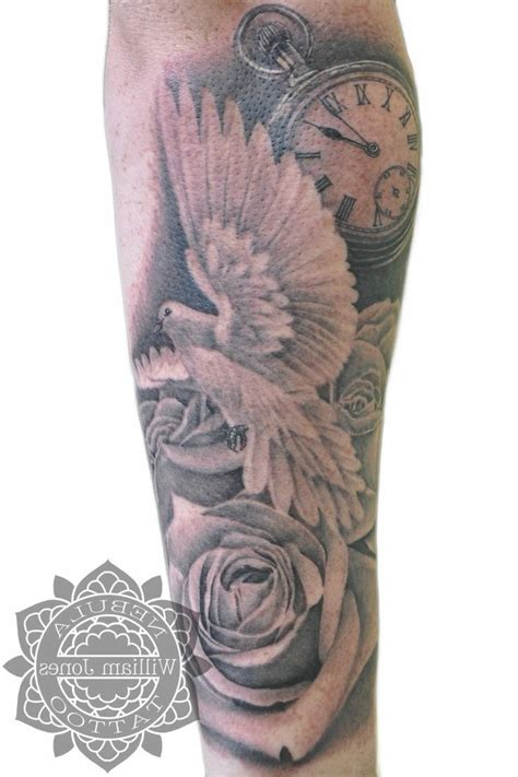 detailed tattoos for men image result for half sleeve tattoos forearm clouds