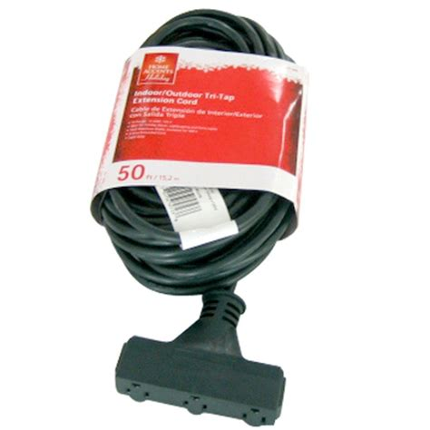 Landscape Extension Cord 50 Ft 16 3 Tri Tap Landscape Extension Cord Aw62723 The