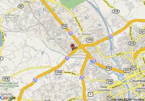 map of travelodge columbia west columbia