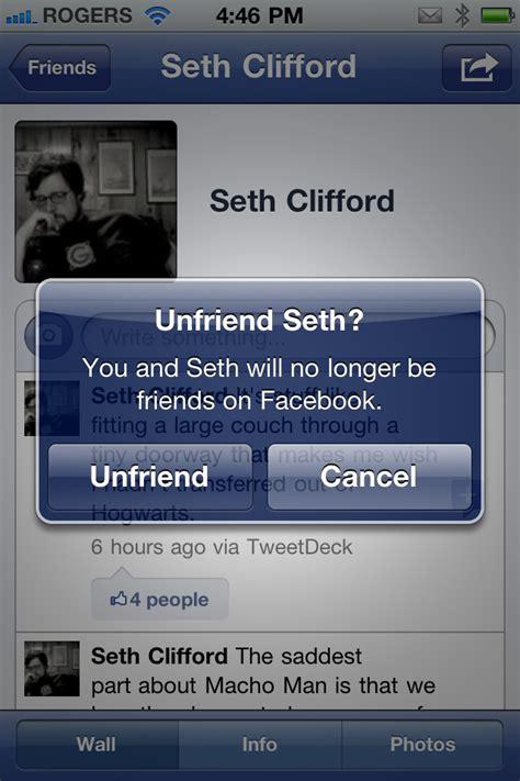 daily tip   unfriend   facebook imore