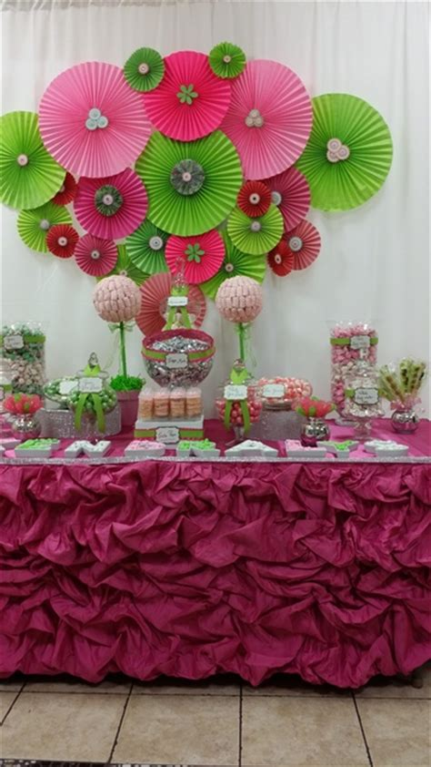 Green Baby Shower Decorations by Pink And Green Baby Shower See More Ideas At