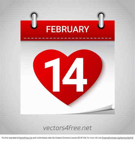 gumbo s pic of the day february 14 2015 maple leaf free valentines day february 14 calendar vector