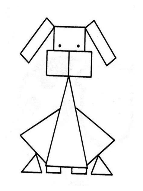 imagenes figuras geometricas dibujos de animales con figuras geometricas imagui
