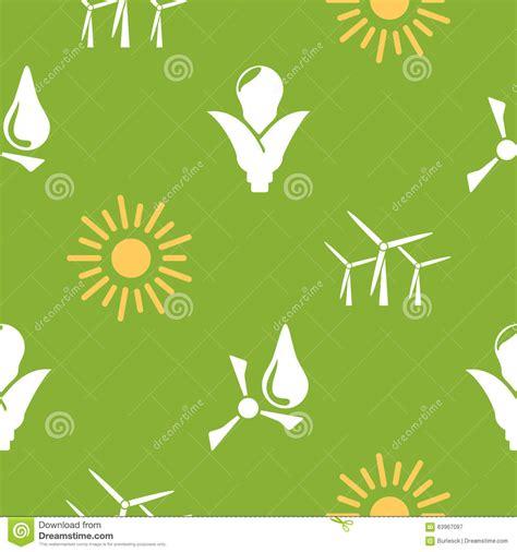 pattern renewable energy renewable energy pattern stock vector image 63967097