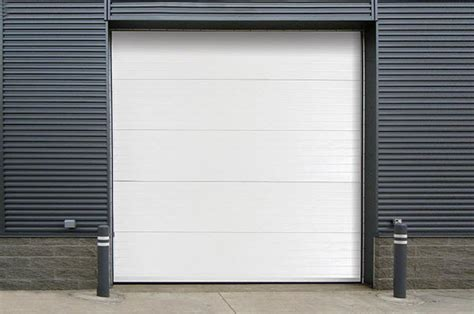 Overhead Door Business For Sale Insulated Steel Back Sectional Steel Door Model 470