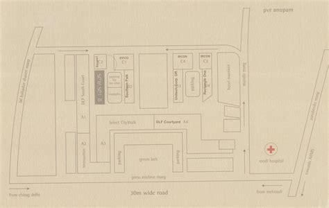 layout plan of new delhi office space in rasvilas south delhi saket district