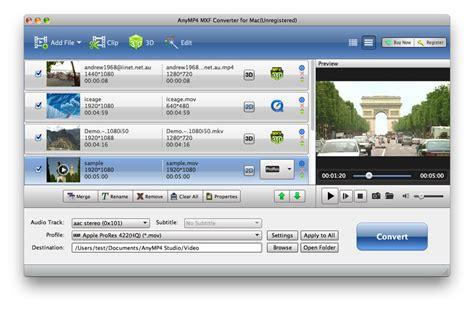 mxf video format anymp4 mxf converter for mac 6 2 6 free download convert