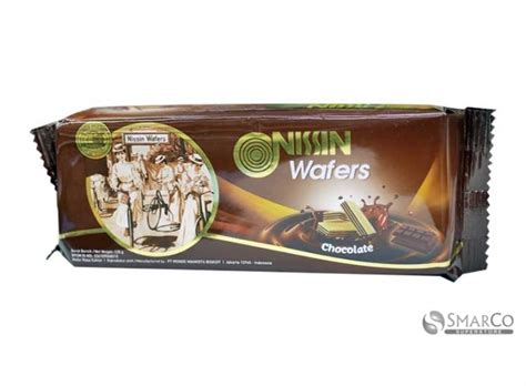 Nissin Milk Wafer 120 Gr detil produk nissin wafer chocolate 120 gr 1014030080651