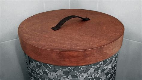 wooden laundry with lid how to make a wooden lid for hers baskets