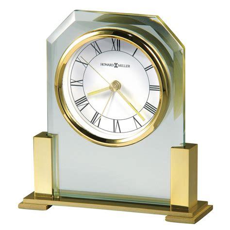 howard miller paramount glass alarm clock 613573