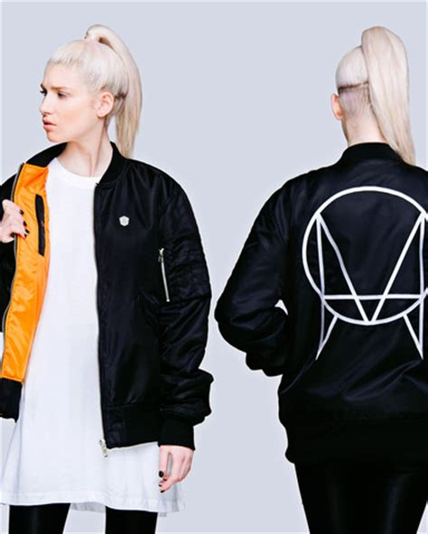 Jaket Hoodie Sweater Owsla Abu enter the epic skrillex mothership tour rocks flyaway x clothing contest