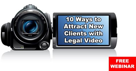 8 Ways To Impress A New by Webinar 10 Ways To Attract New Clients With