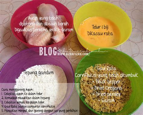 resepi ayam goreng crispy blog sihatimerahjambu