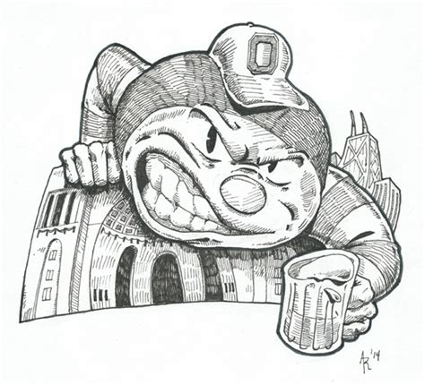 brutus buckeye coloring pages