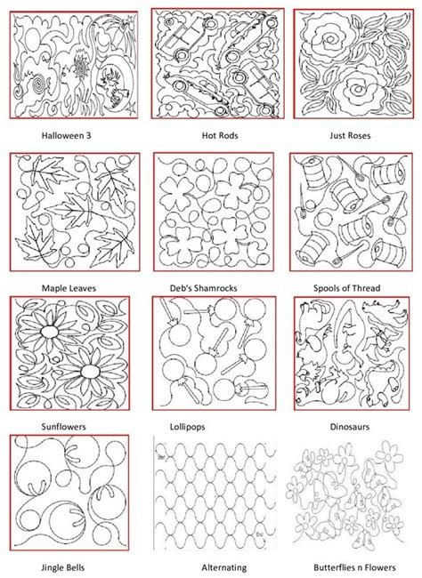 Arm Quilting Patterns by Pattern Book