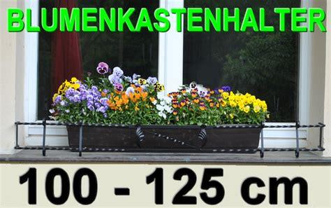 Blumenkasten Fensterbank Aussen by Blumenkastenhalter Schwarz 100 125cm F 220 R Fensterbank