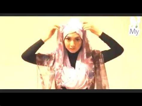tutorial pashmina glitter rajut hd video tutorial hijab pashmina rajut syiria style