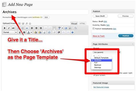 archive page template add an archive page for seo site architecture and better