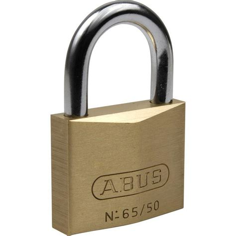 cadenas marque abus cadenas laiton abus 65 40mm comparer les prix de cadenas
