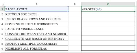 excel format uppercase first letter change capital letters to lowercase sle letter template