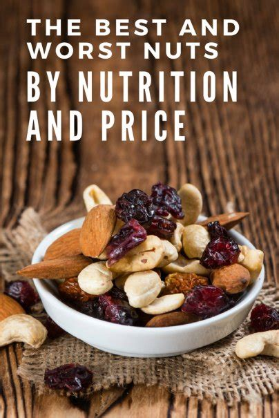 the best nuts the best and worst nuts by nutrition and price