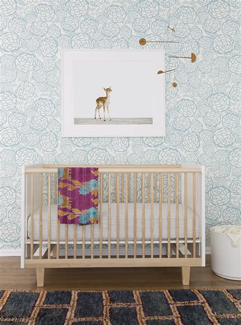 wallpaper for nursery sophisticated art for baby s nursery shop our charming