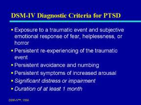 Ii of two parts in my look at ptsd part i which focused on ptsd in the