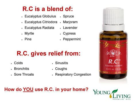 Living Rc Essential for living chonic allergies rc essential oils from