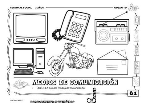 imagenes para colorear medios de comunicacion medios de comunicacion para inicial colorear 110 best
