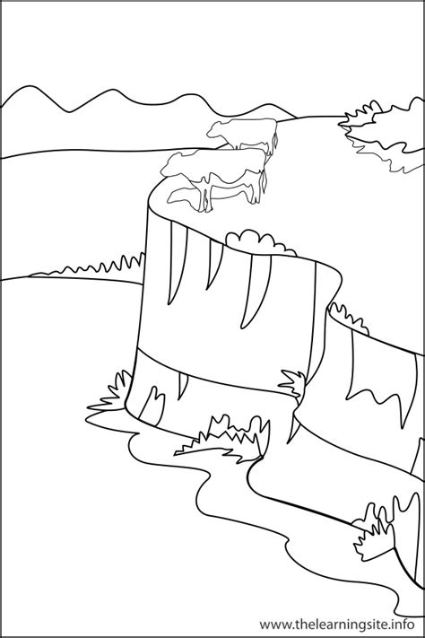 showing gallery for plateau coloring page