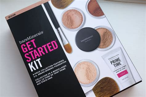 Bare Minerals Starter Kit bare minerals get started kit in medium review thou