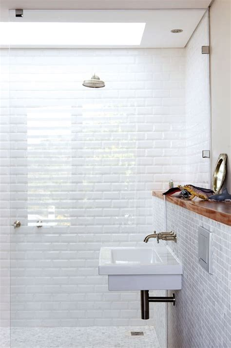 white subway tile shower 31 white subway tile in shower ideas and pictures