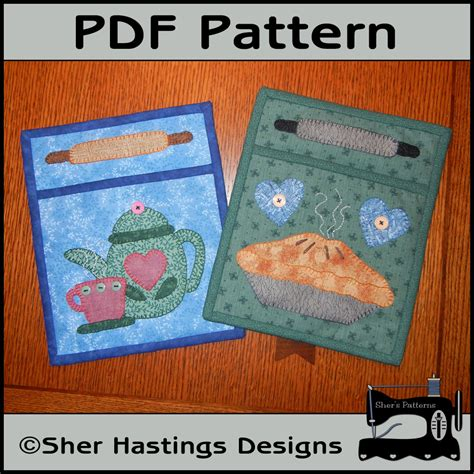 pattern for fabric wall organizer pdf pattern for fabric pocket organizers pie teapot