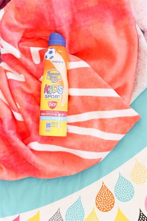 banana boat sunscreen burns 2018 banana boat kids sunscreen review a subtle revelry