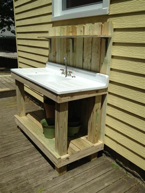 sink ideas  pinterest mud kitchen