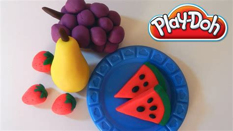 play fruit play doh fruits how to make fruits with playdough