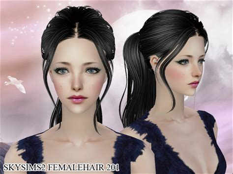 hair download sims 2 s skysims hair 201