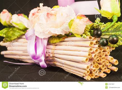 dry sticks decoration drone fly tours wedding bunch of sticks stock photo image 47917027