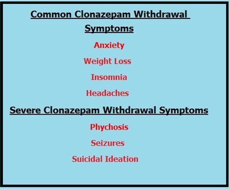Klonopin Withdrawal Detox by Clonazepamwithdrawal The Stuff You Need To