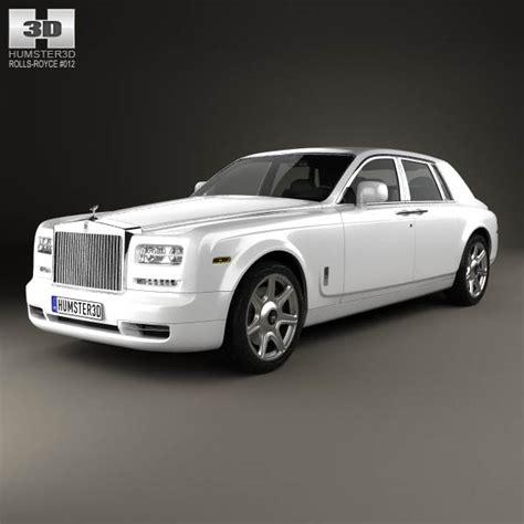 rolls royce phantom sedan 2012 3d model humster3d