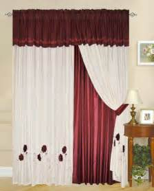 Curtain Design by Different Curtain Design Patterns Home Designing