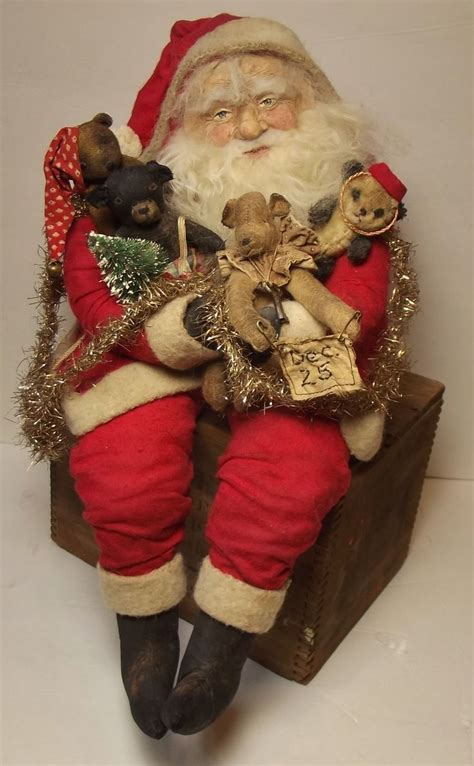 Santa Claus Dolls Handmade - 1000 images about santa collections on